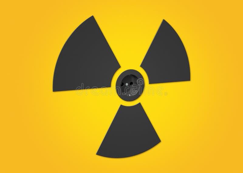 υποδοχή πυρηνικής ενέργε ελεύθερη απεικόνιση δικαιώματος