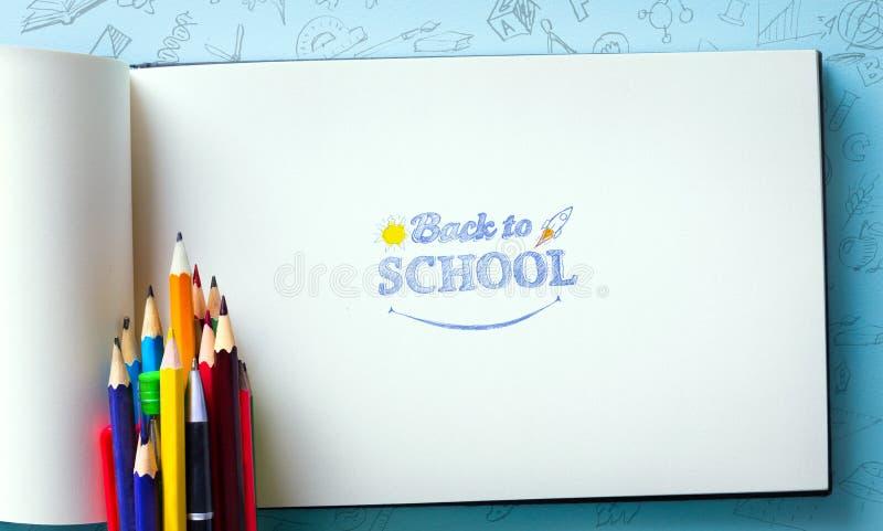 Υποδοχή τέχνης πίσω στο σχολείο στοκ εικόνες