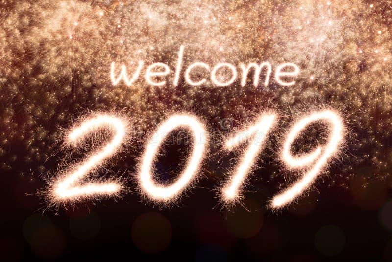 Υποδοχή 2019 στοκ εικόνες