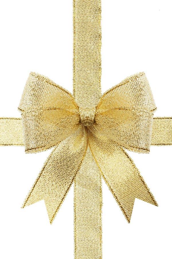 υποκύψτε το δώρο χρυσό στοκ εικόνα