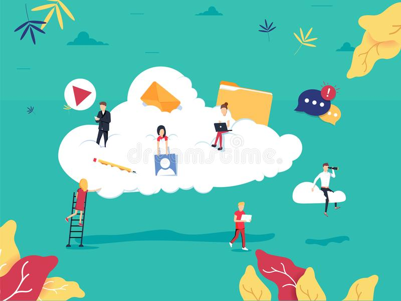 Υπολογίζοντας υπηρεσίες σύννεφων και τεχνολογία, επίπεδη απεικόνιση αποθήκευσης στοιχείων Σχέδιο αποθήκευσης στοιχείων δικτύων απεικόνιση αποθεμάτων