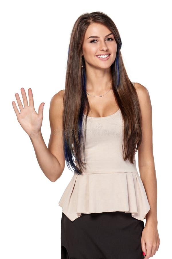 Υπολογισμός χεριών - πέντε δάχτυλα στοκ φωτογραφία με δικαίωμα ελεύθερης χρήσης