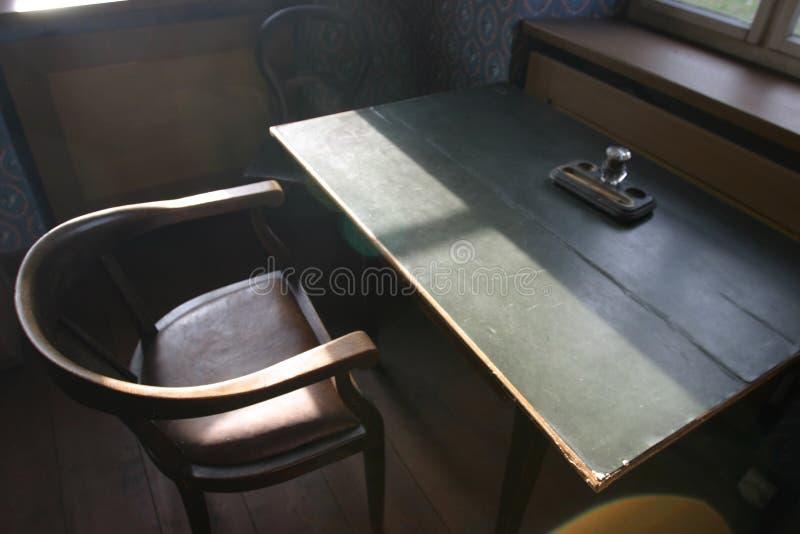 υπολογιστής γραφείου παλαιός πολύ Στοκ Εικόνα