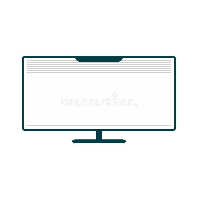 Υπολογιστής γραφείου PC απεικόνιση αποθεμάτων