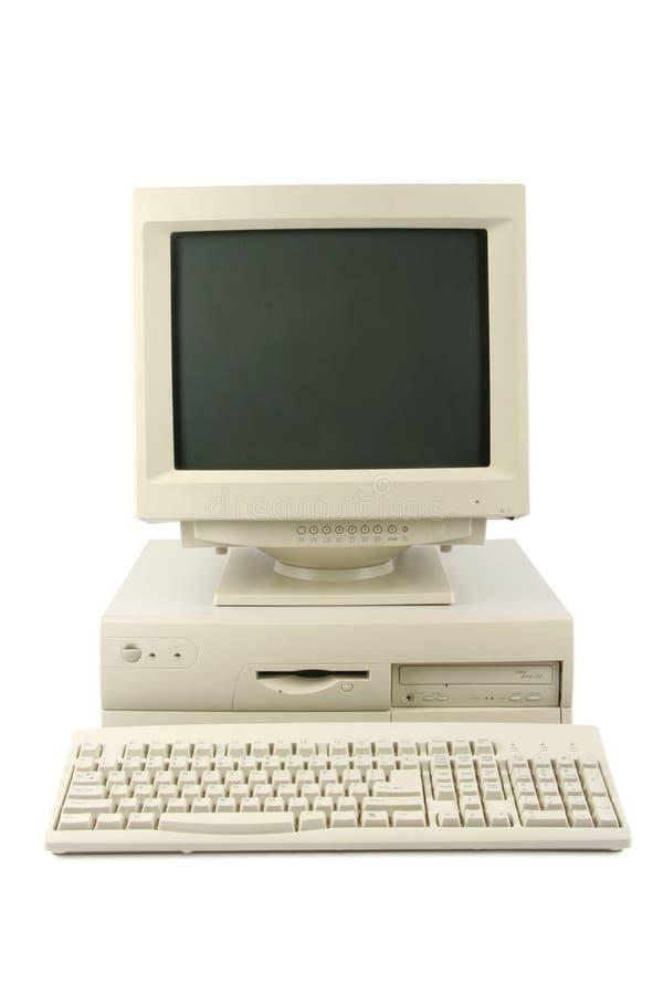 υπολογιστής γραφείου &up στοκ φωτογραφία