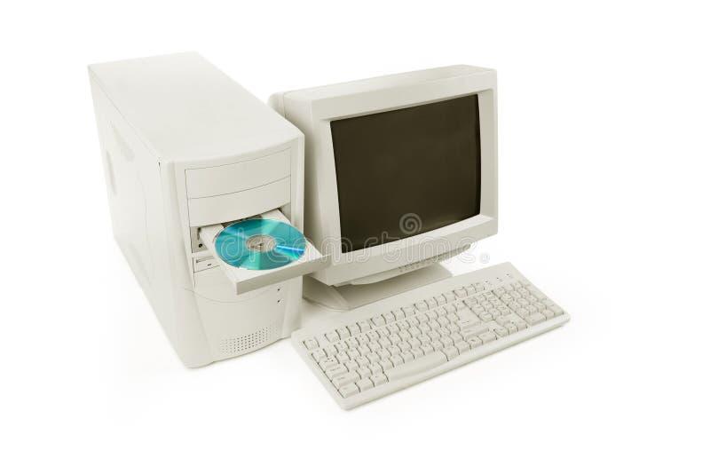 υπολογιστής γραφείου &up στοκ εικόνα με δικαίωμα ελεύθερης χρήσης