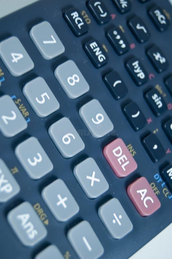 υπολογιστής επιστημον&io στοκ φωτογραφία με δικαίωμα ελεύθερης χρήσης