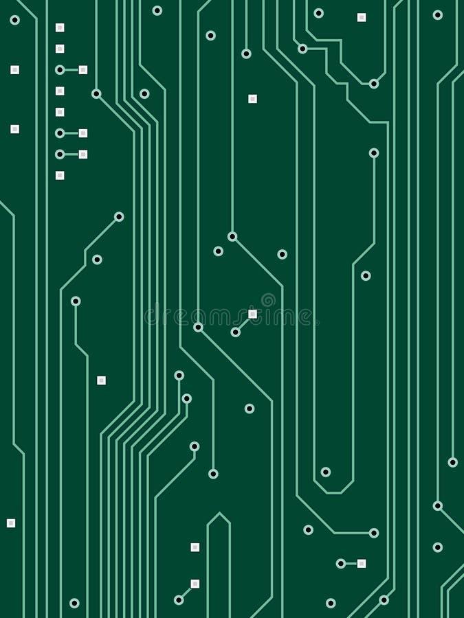 υπολογιστής κυκλωμάτων ανασκόπησης απεικόνιση αποθεμάτων