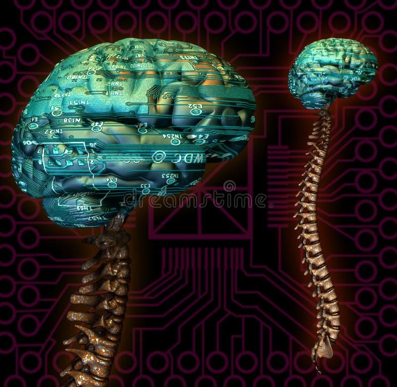υπολογιστής τελευταί&om διανυσματική απεικόνιση