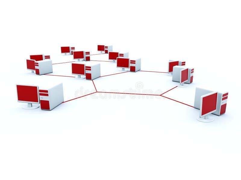 υπολογιστής τομέων διανυσματική απεικόνιση