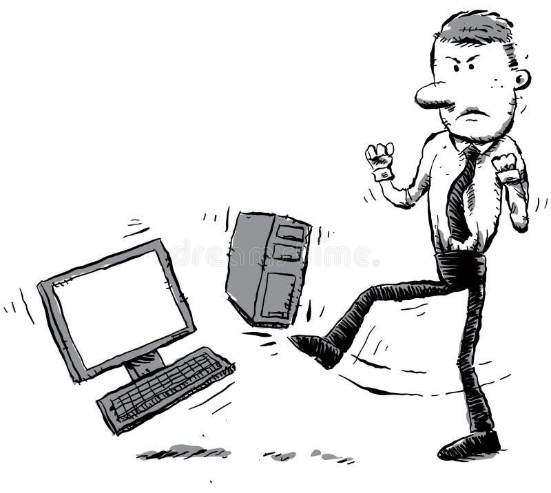 υπολογιστής hater απεικόνιση αποθεμάτων