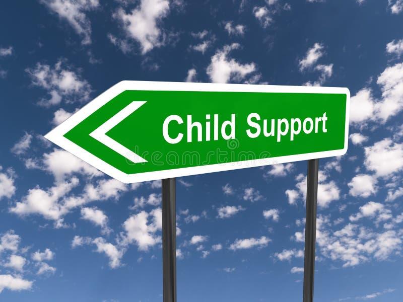Υποστήριξη παιδιών διανυσματική απεικόνιση