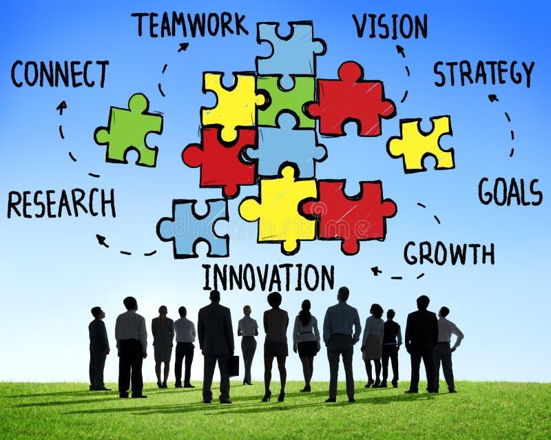Υποστήριξη συνεργασίας στρατηγικής σύνδεσης ομάδας ομαδικής εργασίας στοκ φωτογραφία με δικαίωμα ελεύθερης χρήσης