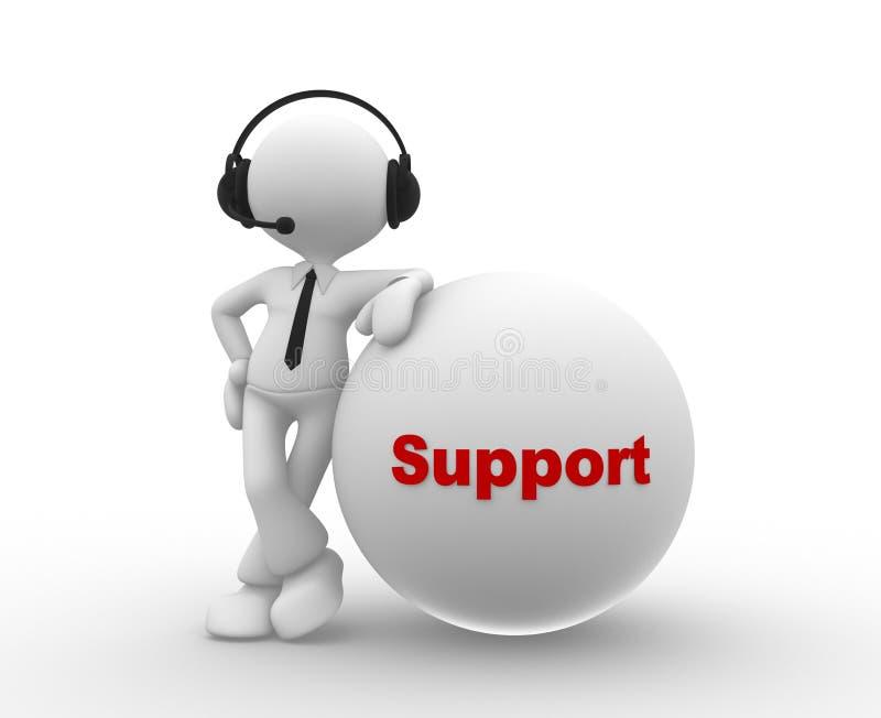 Υποστήριξη ελεύθερη απεικόνιση δικαιώματος