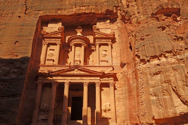 Υπουργείο Οικονομικών της Petra στοκ εικόνες