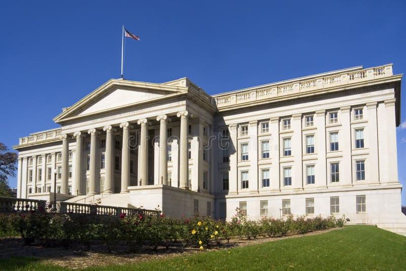 Υπουργείο Οικονομικών τμημάτων οικοδόμησης στοκ εικόνες