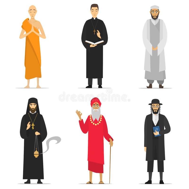 Υπουργοί θρησκείας ελεύθερη απεικόνιση δικαιώματος