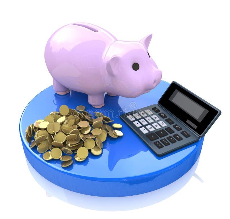 Υπολογισμοί των επενδύσεων απεικόνιση αποθεμάτων