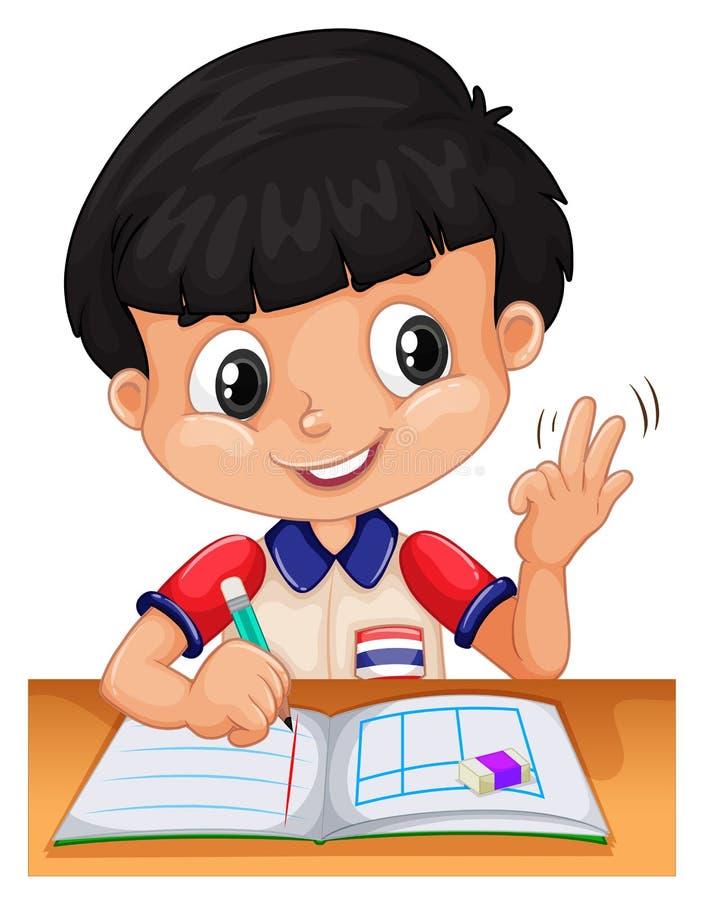 Υπολογισμός μικρών παιδιών με τα δάχτυλα απεικόνιση αποθεμάτων