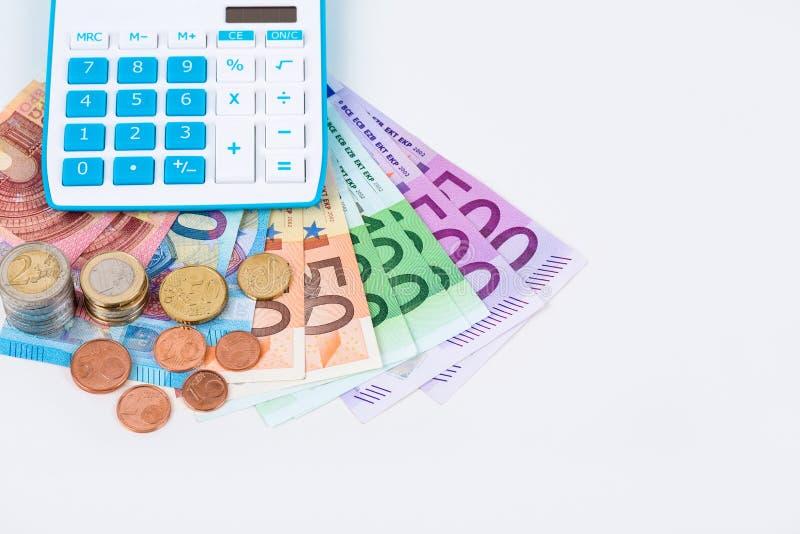 Υπολογισμός χρημάτων στοκ εικόνα με δικαίωμα ελεύθερης χρήσης