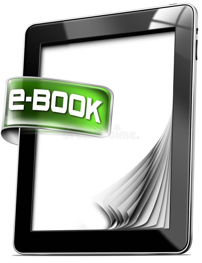 Υπολογιστές ταμπλετών - EBook απεικόνιση αποθεμάτων