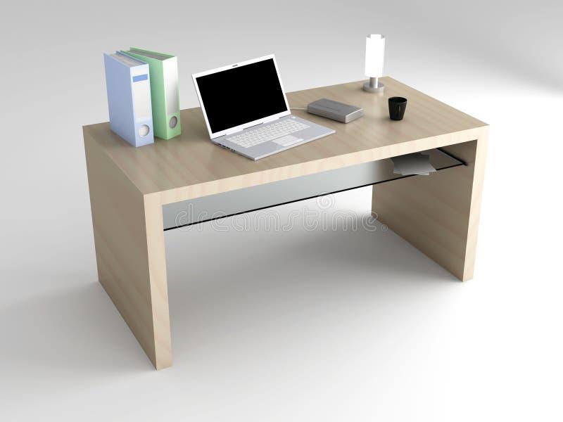 Υπολογιστής γραφείου απεικόνιση αποθεμάτων