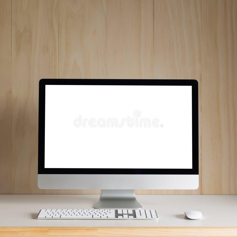 Υπολογιστής γραφείου στοκ φωτογραφία