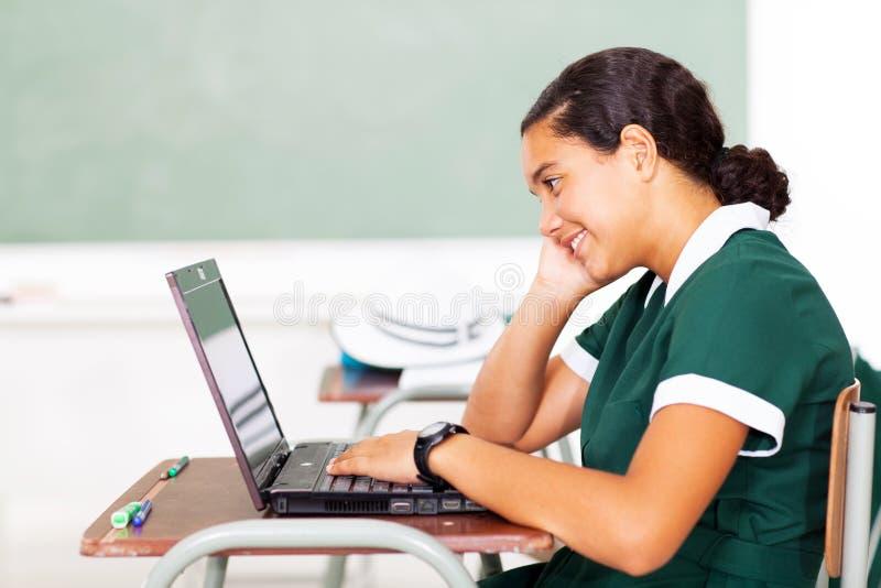 Υπολογιστής γυμνασίου στοκ φωτογραφία με δικαίωμα ελεύθερης χρήσης
