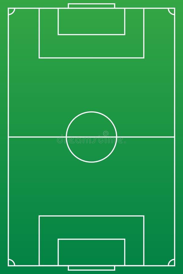 Υπόβαθρο αγωνιστικών χώρων ποδοσφαίρου ή γηπέδων ποδοσφαίρου Το διανυσματικό πράσινο δικαστήριο για δημιουργεί το παιχνίδι απεικόνιση αποθεμάτων