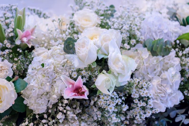 Υπόβαθρο ανθοδεσμών λουλουδιών στοκ εικόνες