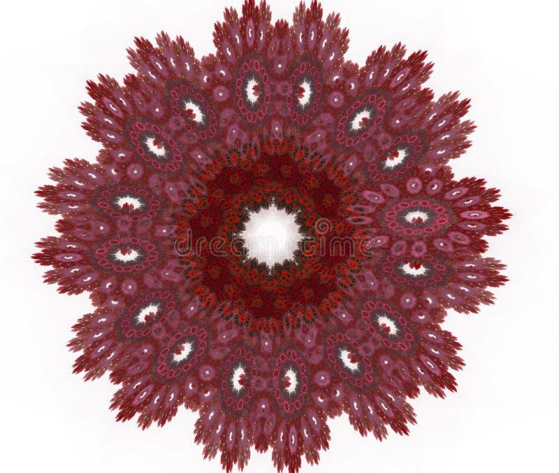 Υπόβαθρο δαντελλών burgundy στο χρώμα στοκ φωτογραφίες