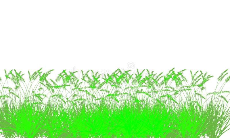 Υπόβαθρο απεικόνισης δέντρων φύλλων διανυσματική απεικόνιση