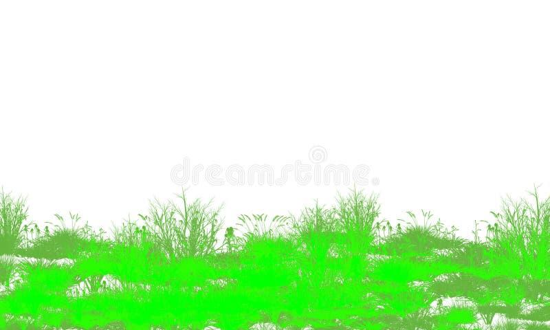 Υπόβαθρο απεικόνισης δέντρων φύλλων ελεύθερη απεικόνιση δικαιώματος
