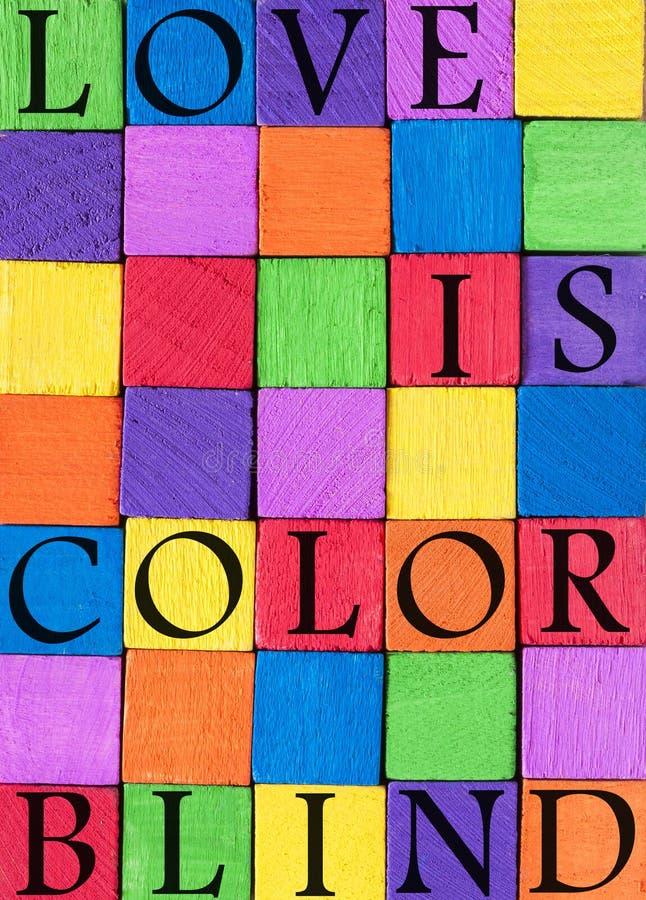 Υπόβαθρο αποσπάσματος αγάπης χρώματος στοκ φωτογραφία με δικαίωμα ελεύθερης χρήσης