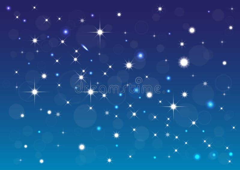 Υπόβαθρο αστεριών απεικόνιση αποθεμάτων