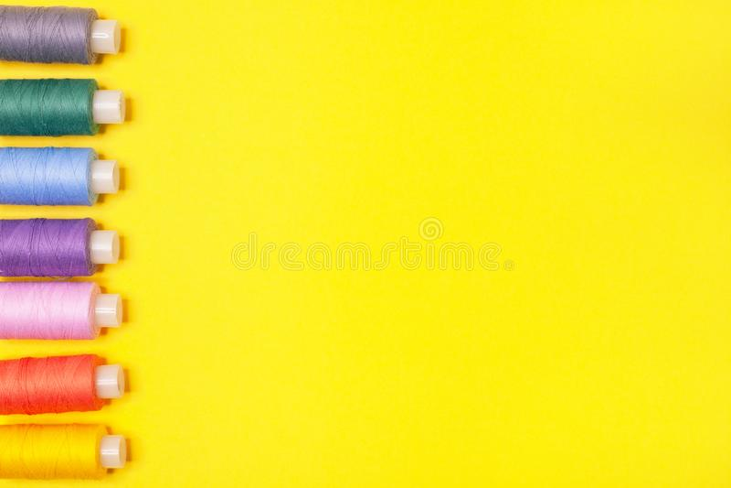 Υπόβαθρο βιοτεχνίας E Εξαρτήματα για τη ραπτική στοκ εικόνες με δικαίωμα ελεύθερης χρήσης