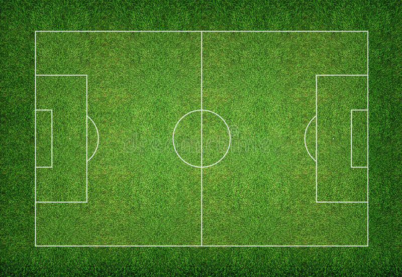 Υπόβαθρο γηπέδων ποδοσφαίρου στοκ φωτογραφία
