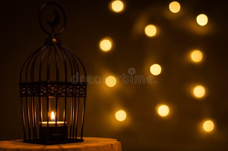 Υπόβαθρο για τη μουσουλμανική γιορτή του ιερού μήνα Ramadan Kareem στοκ φωτογραφία