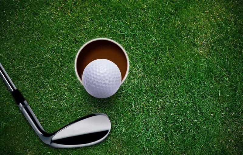 Υπόβαθρο γκολφ στοκ φωτογραφίες