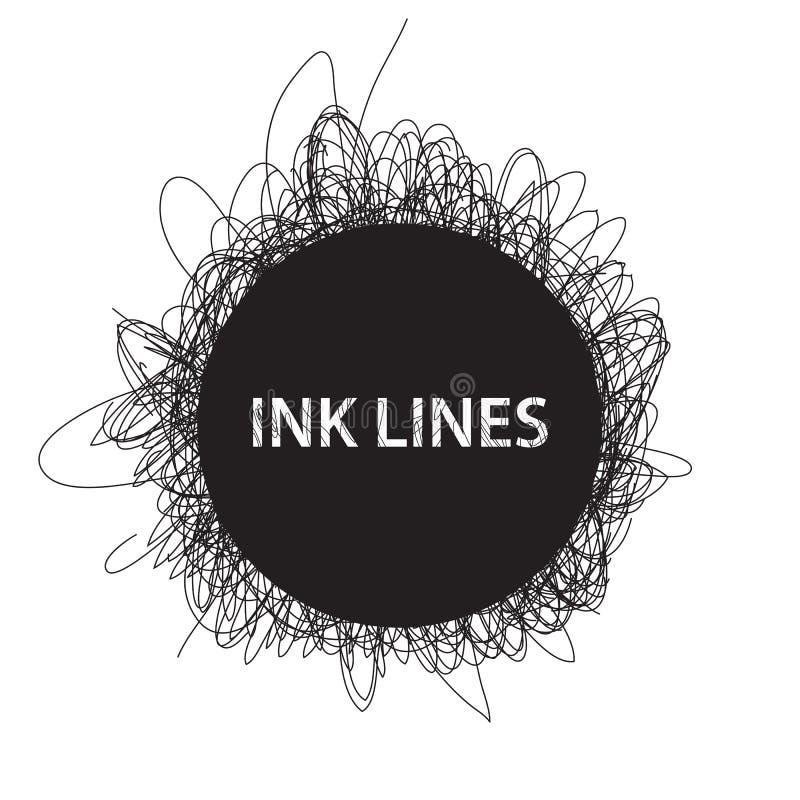 Download Υπόβαθρο γραμμών μελανιού διανυσματική απεικόνιση. εικονογραφία από διακοσμητικός - 62719326