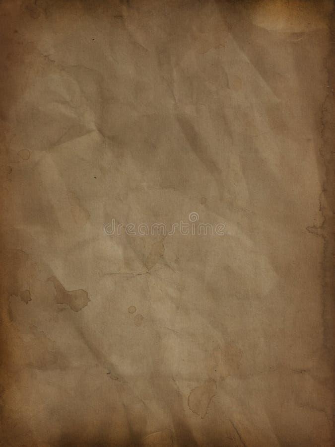 Υπόβαθρο εγγράφου Grunge απεικόνιση αποθεμάτων