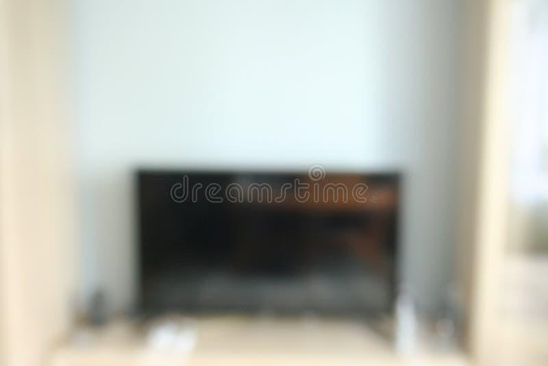 Υπόβαθρο εικόνας θαμπάδων, εσωτερική διακόσμηση στο άσπρο σπίτι στοκ φωτογραφία με δικαίωμα ελεύθερης χρήσης