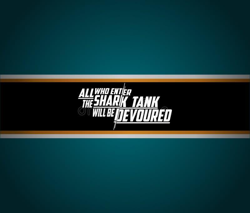 Υπόβαθρο εμβλημάτων των San Jose Sharks Αθλητική ταπετσαρία nhl διανυσματική απεικόνιση
