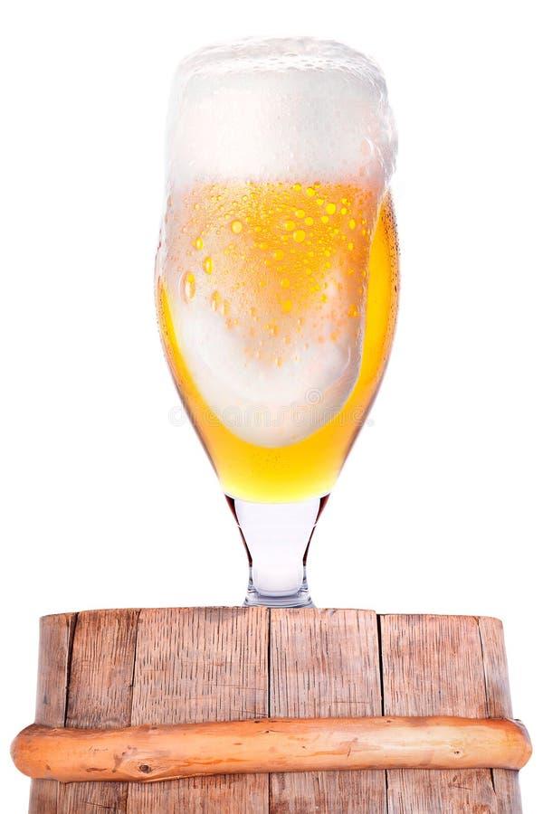 Υπόβαθρο εορτασμού Oktoberfest με την μπύρα στοκ εικόνα