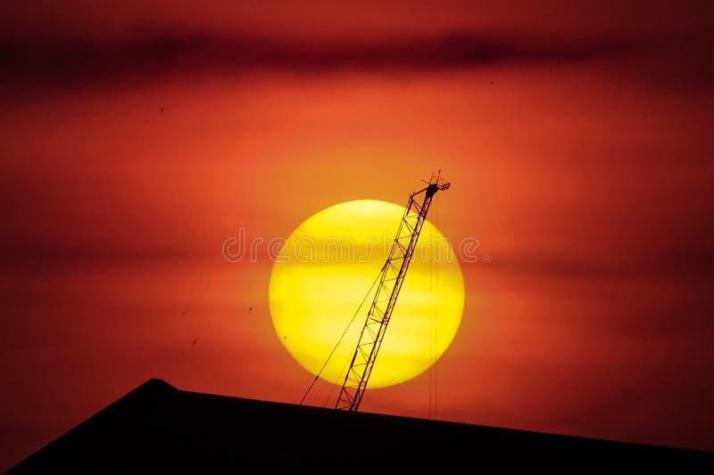 Υπόβαθρο ηλιοβασιλέματος στοκ φωτογραφία με δικαίωμα ελεύθερης χρήσης