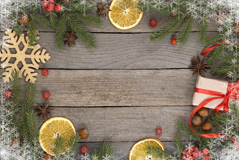 Υπόβαθρο θέματος Χριστουγέννων στοκ εικόνα