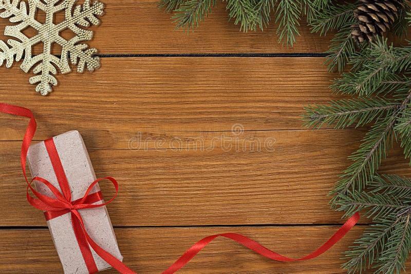 Υπόβαθρο θέματος Χριστουγέννων στοκ εικόνες