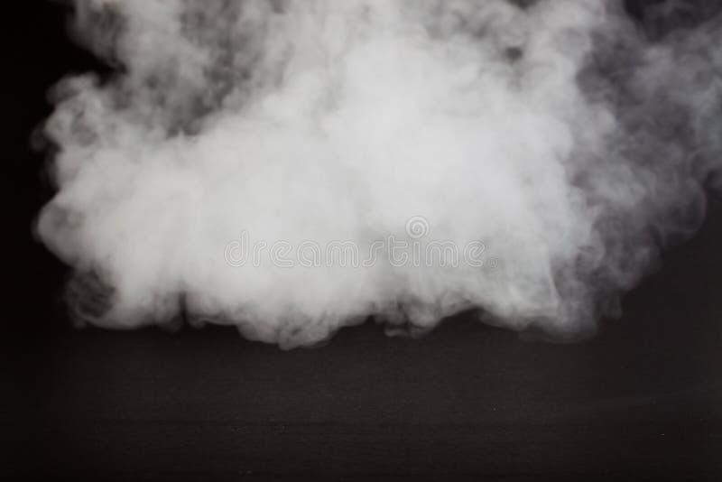 Υπόβαθρο θαμπάδων του αφηρημένου γκρίζου καπνού χρώματος στοκ εικόνες
