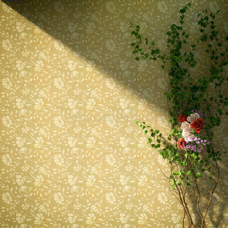 υπόβαθρο διακοπών λουλουδιών και εγκαταστάσεων στοκ φωτογραφίες με δικαίωμα ελεύθερης χρήσης