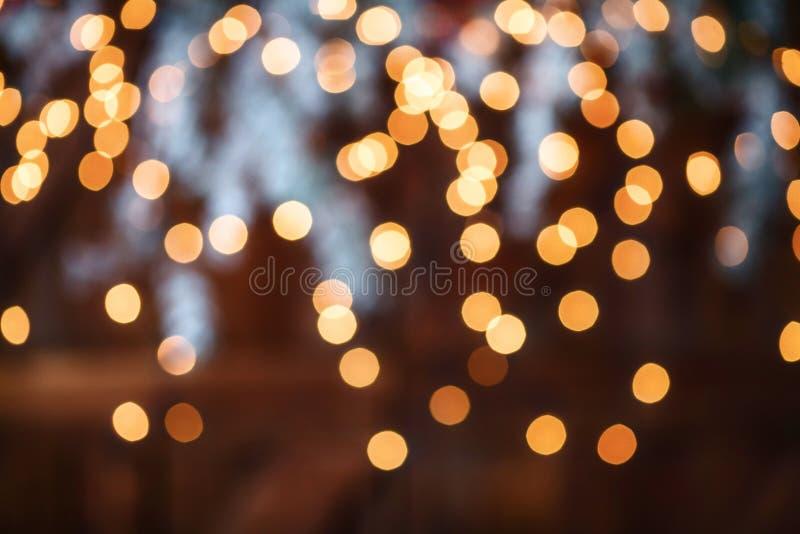 Υπόβαθρο διακοπών Χριστουγέννων bokeh ελαφρύ αφηρημένο στοκ φωτογραφία με δικαίωμα ελεύθερης χρήσης